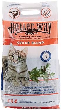 UltraPet Better Way Cedar Cat Litter Review