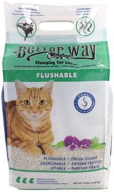 UltraPet Better Way Flushable Cat Litter Review