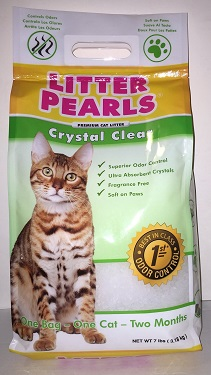 UltraPet Crystal Clear Litter Pearls Cat Litter Review