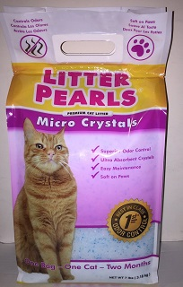 UltraPet Litter Pearls Micro Crystals Cat Litter Review