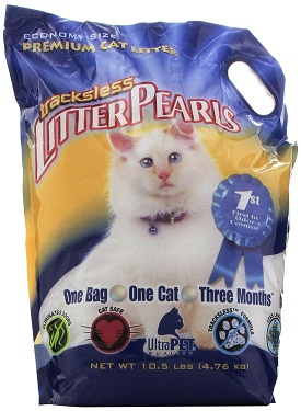 UltraPet Trackless Litter Pearls Cat Litter Review