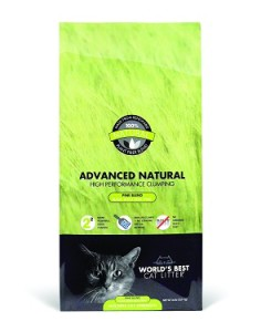 world's best cat litter advanced natural scented pine blend multi-cat cat litter review