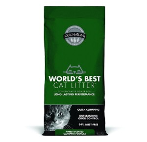 world's best cat litter forest scented clumping
