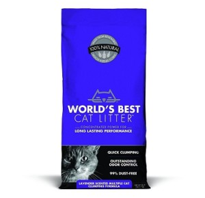 world's best cat litter lavender scented multiple cat clumping