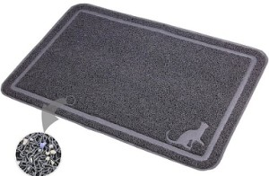 extra large cat litter mat