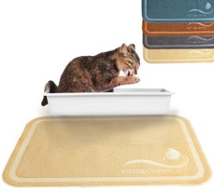 cat litter mat with scatter control review