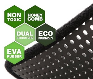 rubber litter mats