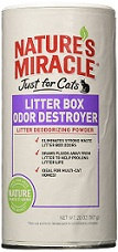 natures-miracle-just-for-cats-odor-destroyer-litter-powder-review