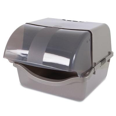 Petmate 22793 Retracting Litter Pan full