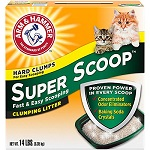 Arm & Hammer Super Scoop Fresh Scent Clumping Cat Litter 1 thumbnail