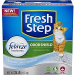 Fresh Step Odor Shield Scented Scoopable Cat Litter thumbnail