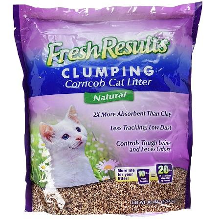 prosense fresh results clumping cat litter