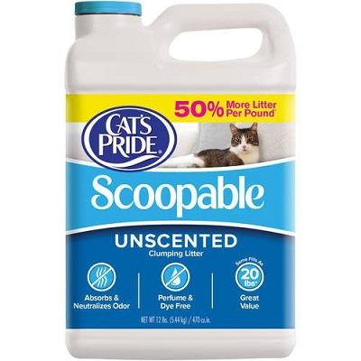 Cat's Pride Scoopable Unscented Cat Litter Review full