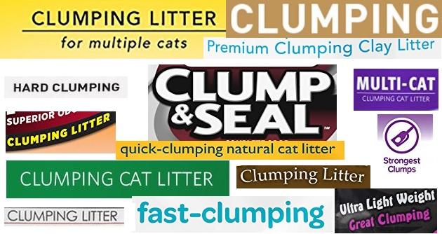 clumping cat litter logos
