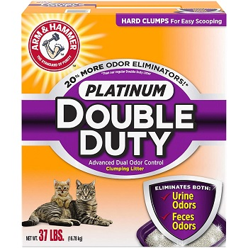 arm and hammer double duty platinum cat litter full